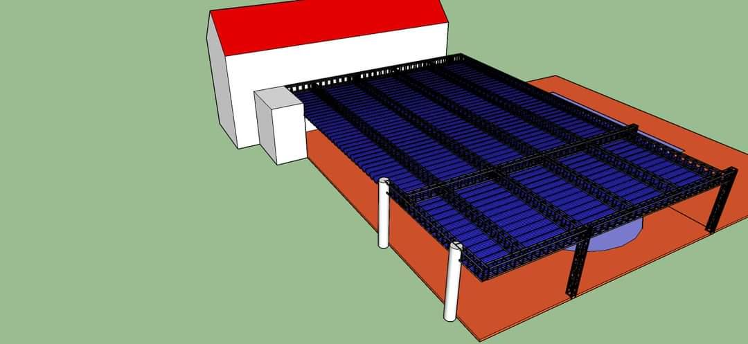 Cấu trúc đặc biệt của mái xếp lượn sóng bình Phước