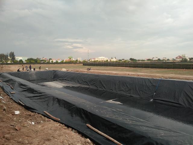 Bạt Lót Ao Hồ HDPE