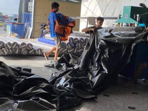 Bạt lót ao hồ, bạt lót sàn, bạt che hàng hóa, bạt che vật liệu, bạt HDPE giá rẻ tại Bình Phước