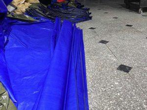 Bạt lót ao hồ, bạt lót sàn, bạt che hàng hóa, bạt che vật liệu, bạt HDPE giá rẻ tại Cần Thơ